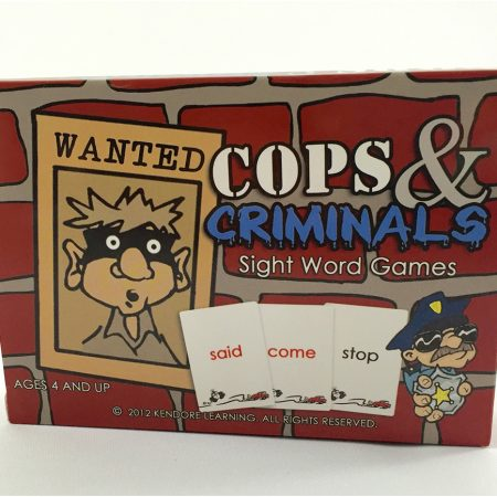 Cops and Criminals Card Deck