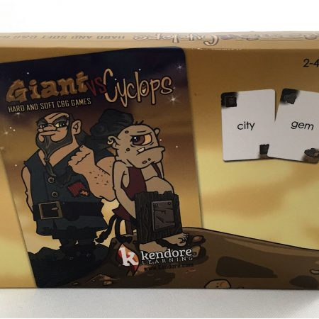 Giant vs Cyclops Card Deck