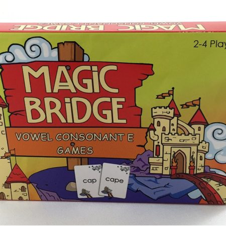 Magic Bridge Vowel Consonant E Card Games