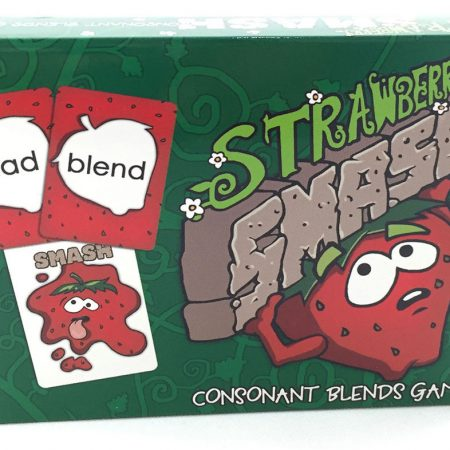 Strawberry Smash Consonant Blends Cards