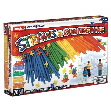 Straws and Connectors (705 pieces)