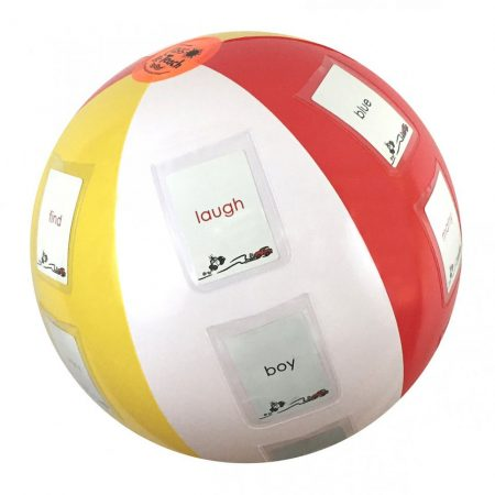 Toss and Teach Beach Ball
